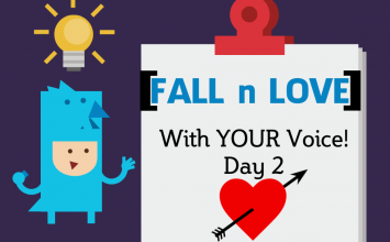FALL In Love with Your Voice – Day 4